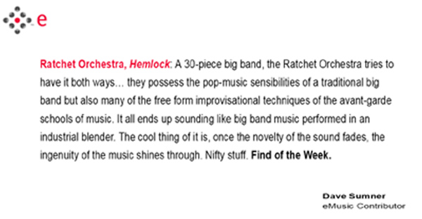 Ratchet Orchestra emusic review