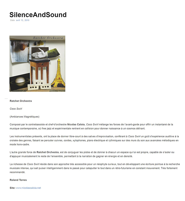 Silense and Sound - Roland Torres